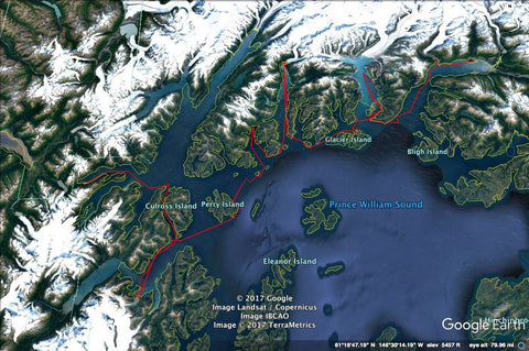 Whitter to Valdez Route