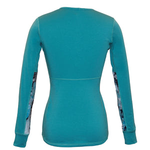 Glacial Teal Alpine Fit Long Sleeve Back