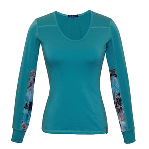 Glacial Teal Alpine Fit Long Sleeve