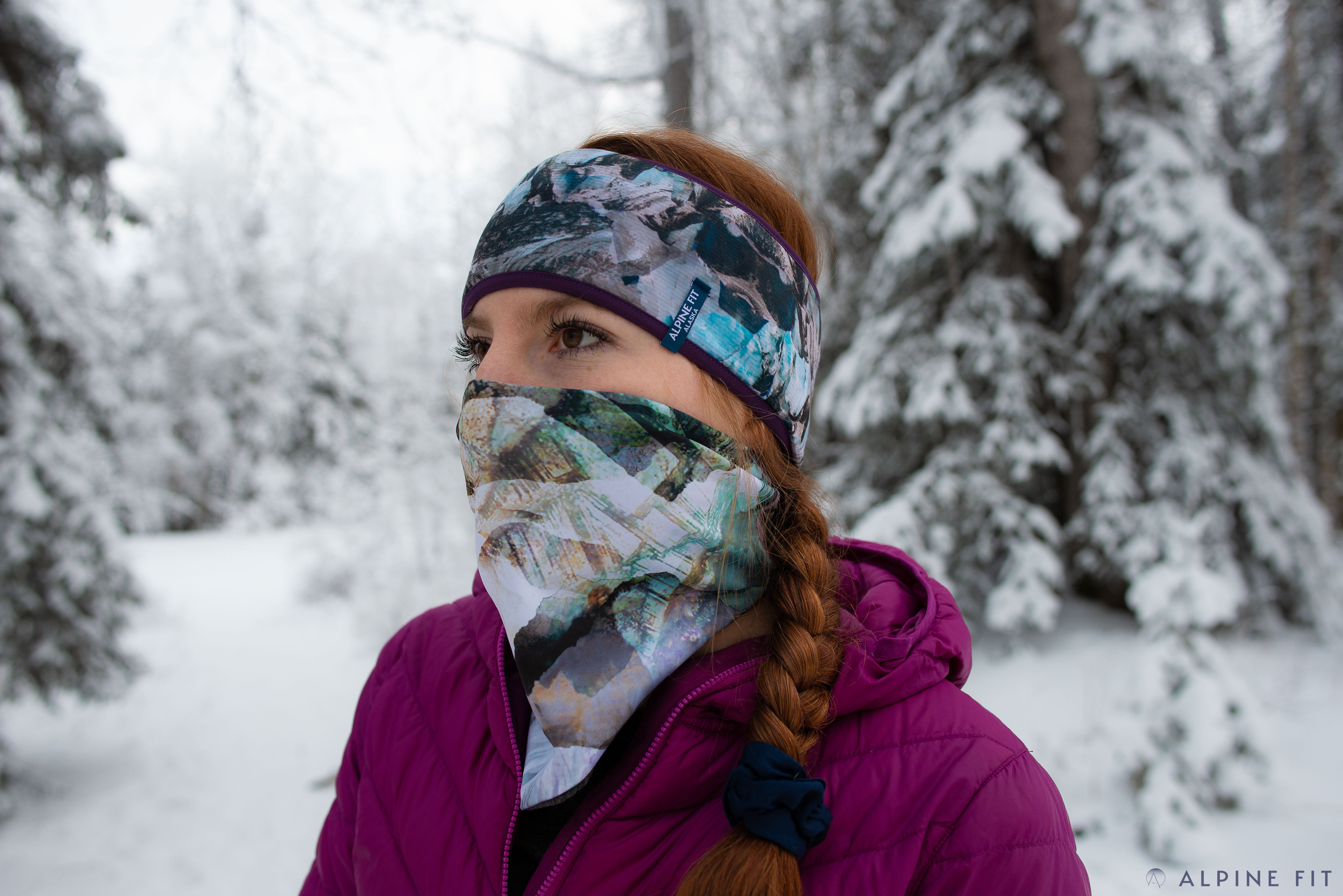 Mountain V Neckwarmer + Merino