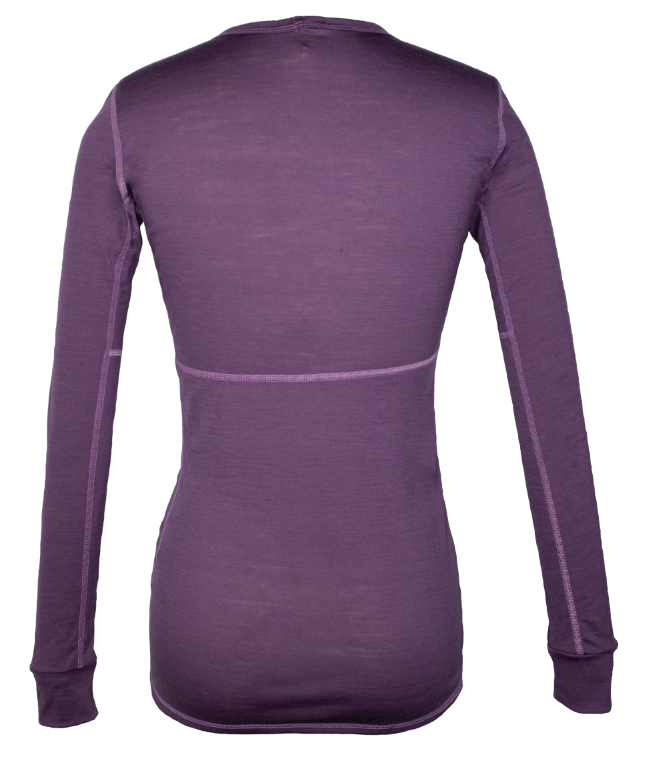 Last Chance - Women's Firn Line Long Sleeve Berry Harvest Purple
