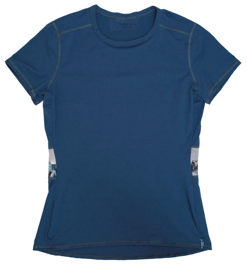 Last Chance - Women's Lost Lake Short Sleeve Bering Sea Blue