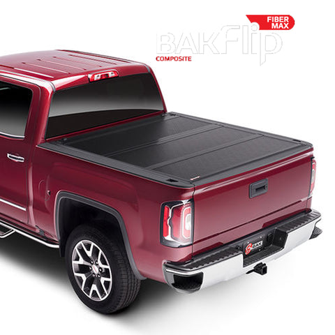 BAKFlip FiberMax Hard Folding Truck Bed Tonneau Cover