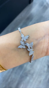 Fancy butterfly bracelet