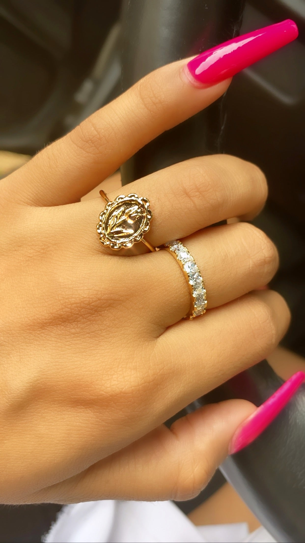 Rose ring set