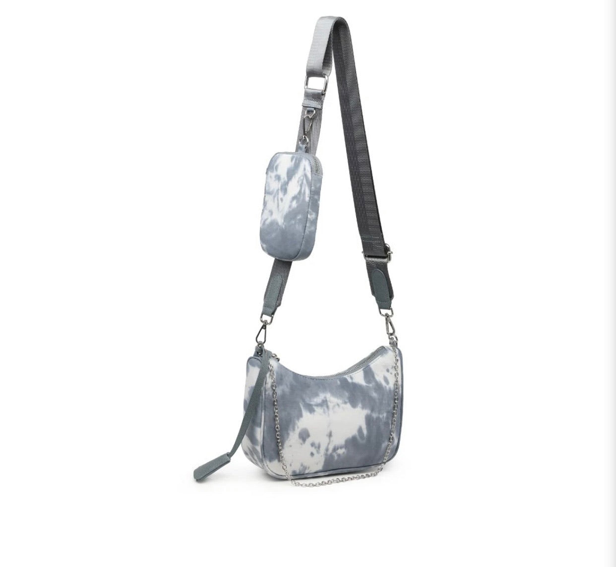 Slate cloud bag