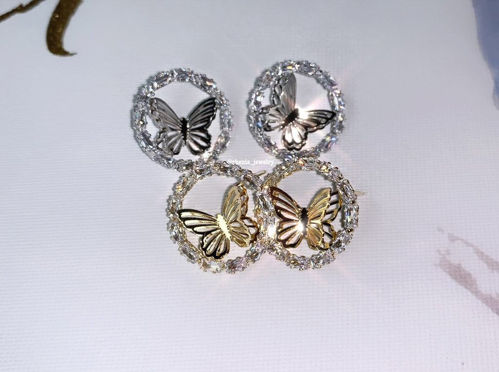 Butterfly studs 2