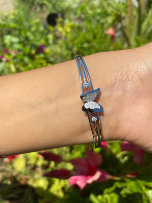 4D butterfly bangle