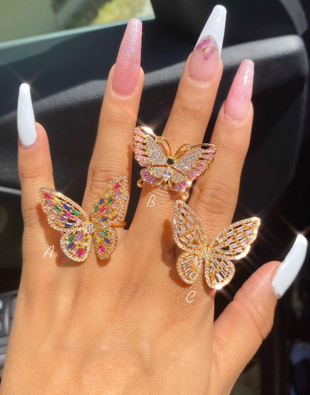 Butterfly ring 2