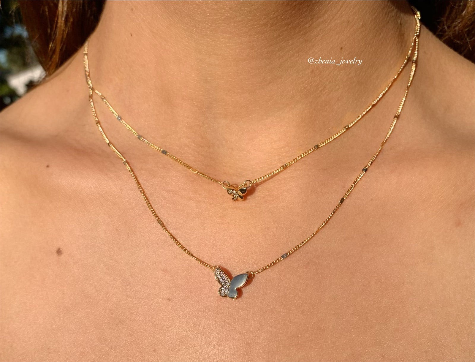 butterfly's necklace