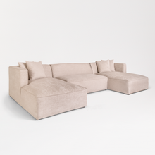 Load image into Gallery viewer, haven alder & tweed sectional minimalist