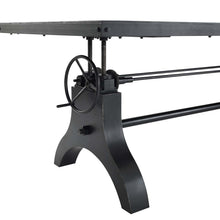 "Load image into Gallery viewer, Genuine 96"" Crank Height Adjustable Rectangle Dining and Conference Table"