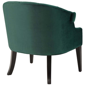 Precept Accent Performance Velvet Armchair