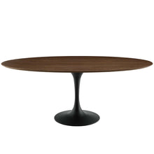 "Load image into Gallery viewer, Lippa 78"" Oval Wood Dining Table"