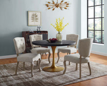 "Load image into Gallery viewer, Drive 48"" Round Wood Top Dining Table"