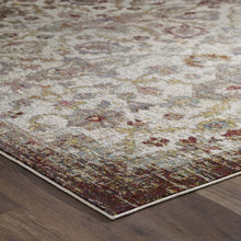 Load image into Gallery viewer, Success Kaede Distressed Vintage Floral Moroccan Trellis 8x10 Area Rug