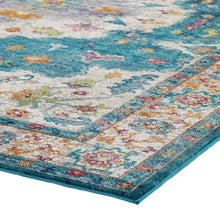 Load image into Gallery viewer, Success Anisah Distressed Floral Persian Medallion 8x10 Area Rug