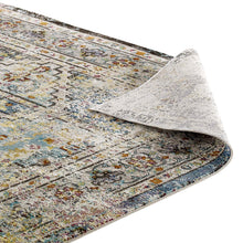 Load image into Gallery viewer, Success Jacinda Distressed Vintage Floral Persian Medallion 4x6 Area Rug