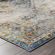 Load image into Gallery viewer, Success Jacinda Distressed Vintage Floral Persian Medallion 8x10 Area Rug