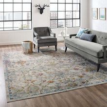 Load image into Gallery viewer, Success Manuka Distressed Vintage Floral Lattice 8x10 Area Rug