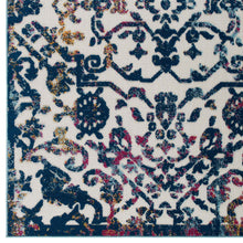 Load image into Gallery viewer, Reflect Primrose Ornate Floral Lattice 5x8 Indoor/Outdoor Area Rug