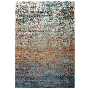 Tribute Jacinda Rustic Distressed Vintage Lattice 8x10 Area Rug