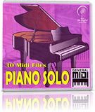 Piano Solo - Pendrive USB OTG Para Teclados Midi, PC, Móvil, Tablet, Módulo o Reproductor MIDI que utilices - Contiene 30 MIDI FILES Solamente De Piano - General Midi - Midis - Flash Drive Memory Stick