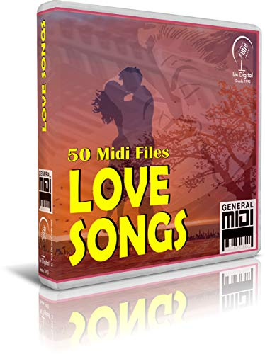 Love Songs - Pendrive USB OTG Para Teclados Midi, PC, Móvil, Tablet, Módulo o Reproductor MIDI que utilices - Contiene 50 MIDI FILES de Canciones de Amor - General Midi - Midis - Flash Drive Memory Stick