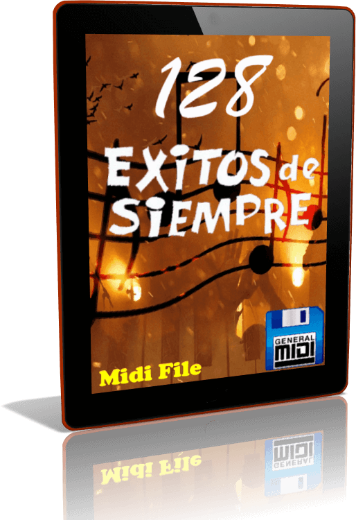 Descarga Digital de 128 MIDI FILES - EXITOS DE SIEMPRE en Formato MIDI
