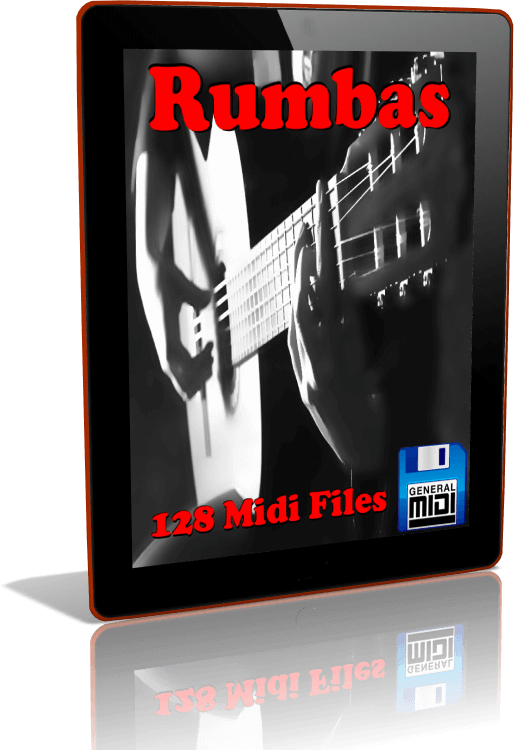 Descarga Digital de 128 MIDI FILES de RUMBAS en Formato General MIDI