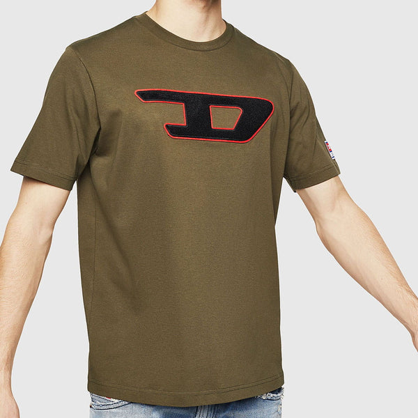 Diesel - T-Just-Division-D Logo T-Shirt 00SY7A-OCATJ-51F