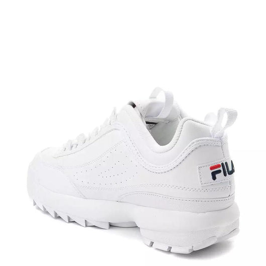 Fila Disruptor II White Trainers 100 18114 | 3rd Base