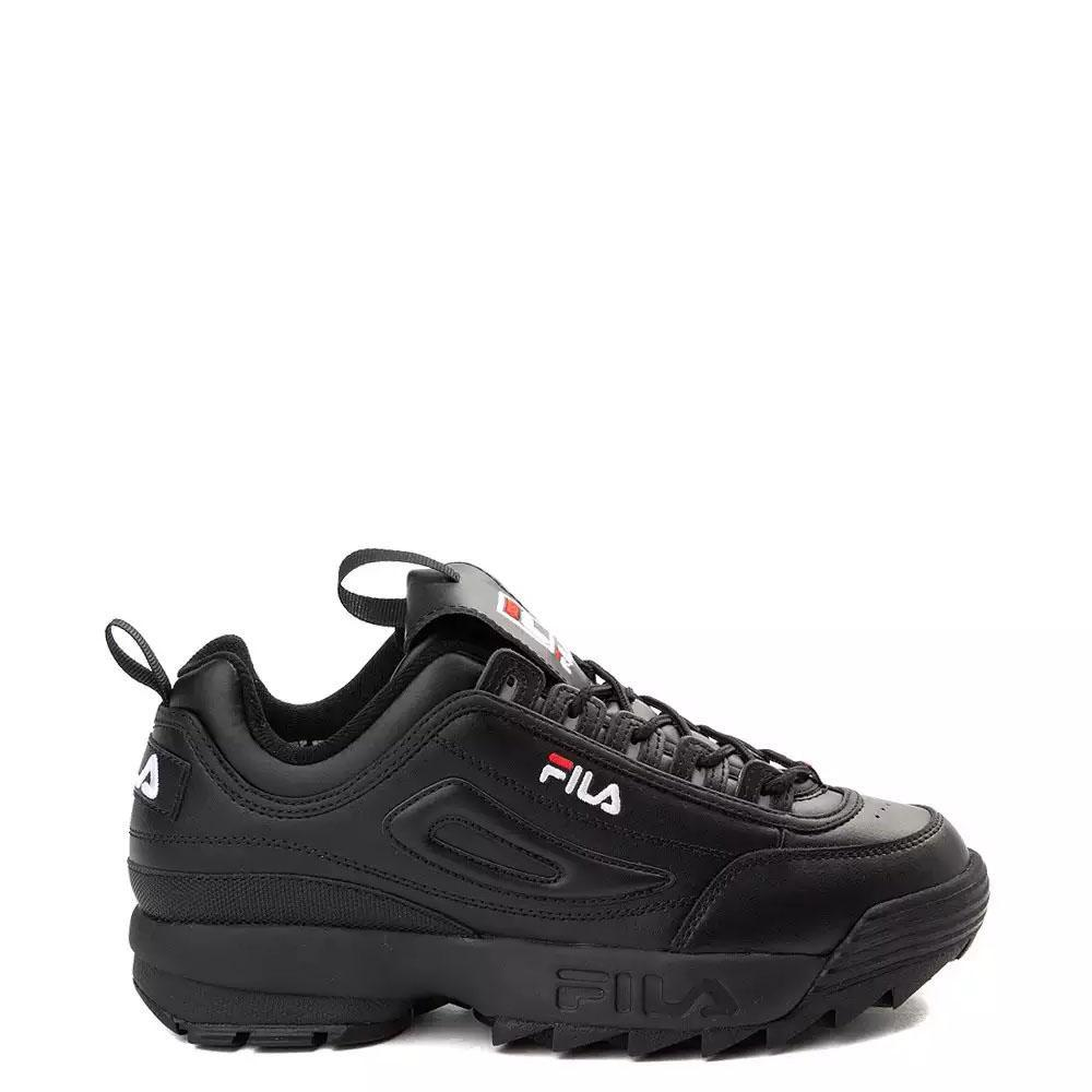 Fila Disruptor II Black Trainers 100 18114 | 3rd Base