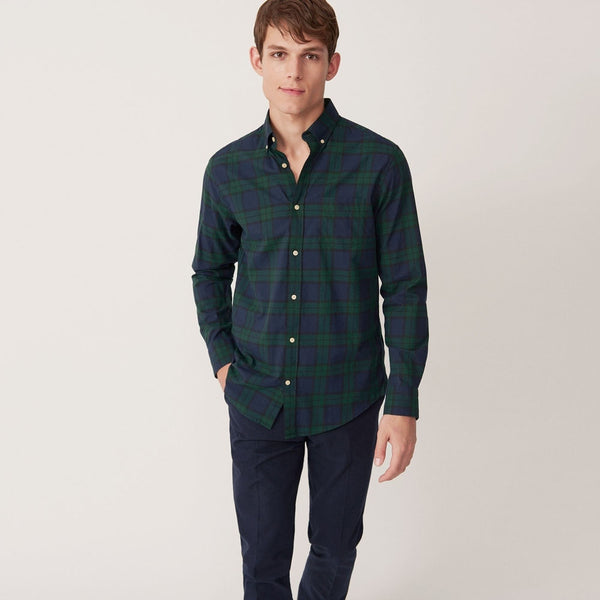 Blackwatch Check Shirt Tartan Green