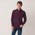 Blackwatch Check Shirt Winter Wine