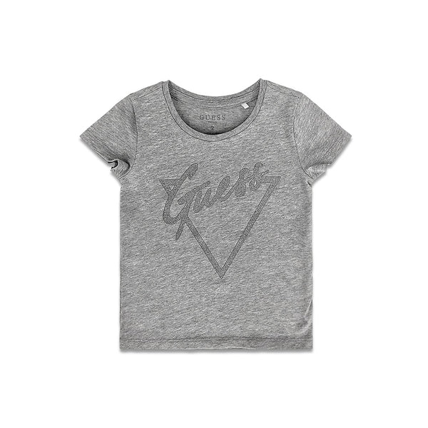 Guess Kids Tri Script Tee - 3rd Base Urban
