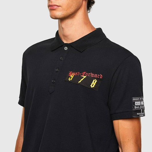 Diesel T-Weet-Tapes Polo/Golf Shirt A01125-0MXZA-900