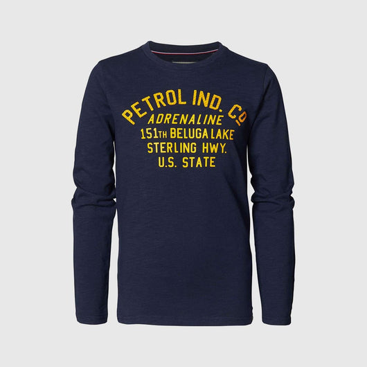 Petrol Industries L/S Artwork T-Shirt B-3000-TLR606-5091