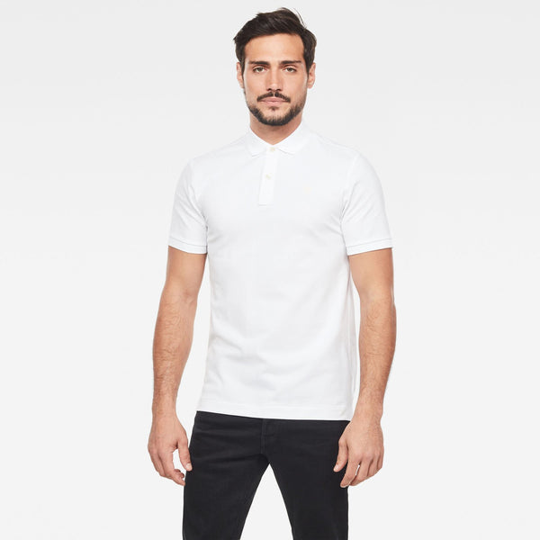 G-Star Raw Dunda Slim Polo/Golfer - 3rd Base Urban