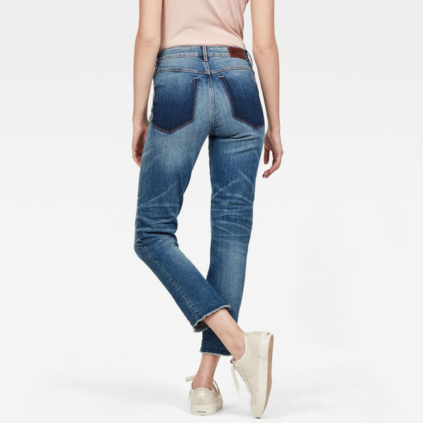 G-Star Raw 3301 RP High Straight Ankle Jeans D12906