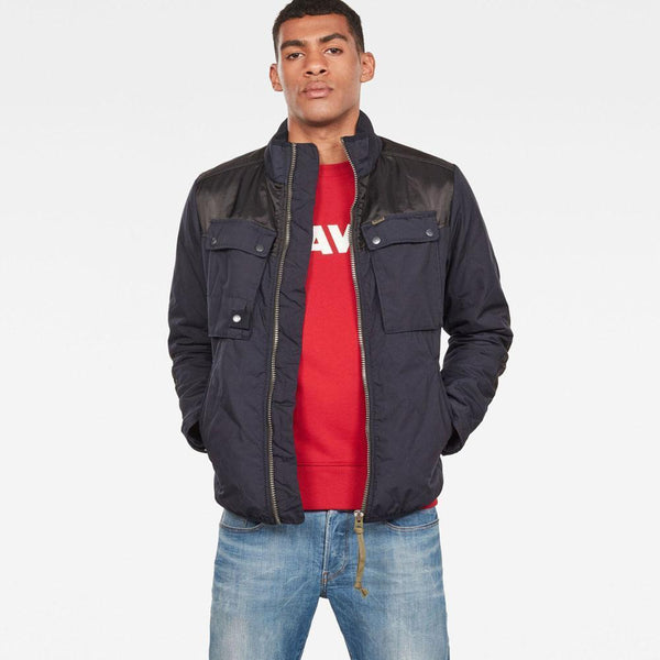 G-Star Raw-Filch Quilted Overshirt D13139-A789-881-Jacket-D13139016K02
