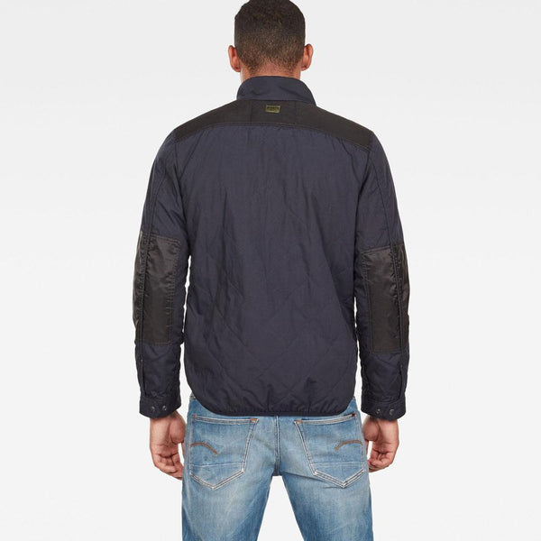 G-Star Raw-Filch Quilted Overshirt D13139-A789-881-Jacket-D13139016K03