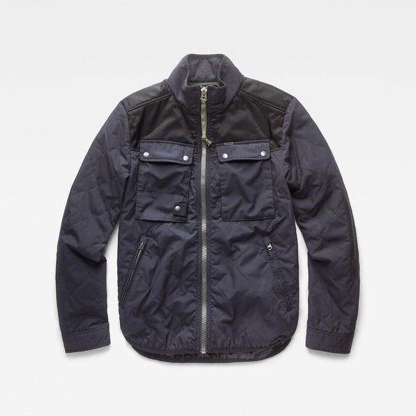 G-Star Raw-Filch Quilted Overshirt D13139-A789-881-Jacket-D13139016K04