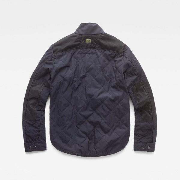 G-Star Raw-Filch Quilted Overshirt D13139-A789-881-Jacket-D13139016K05