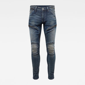 G-Star Raw Air Defence Zip Skinny Jeans D15380-C051-B824