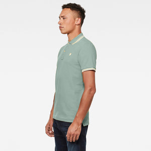 G-Star Raw Dunda Slim Stripe Polo/Golf Shirt D17127-5864-2190