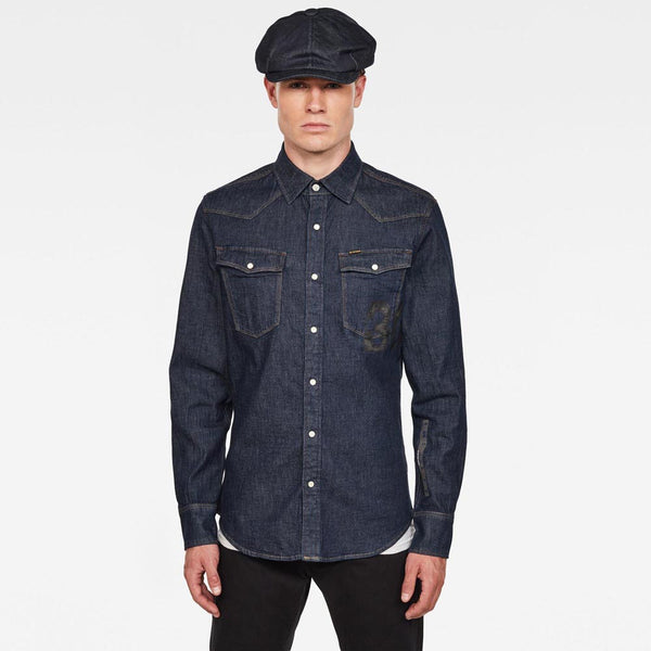G-Star Raw 3301 Slim Shirt D17518-C437-082