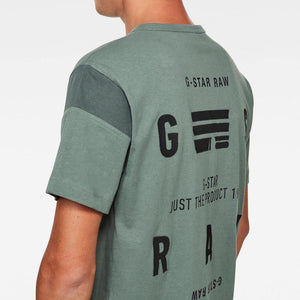 G-Star Raw C&S Back Graphic Loose R T-Shirt D17660-C336-2190