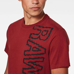 G-Star Raw RAW Vertical Logo T-Shirt D17776-B353-B729