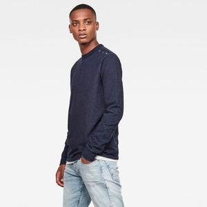 G-Star Raw Indigo Washed Sweater D18723-C504-082